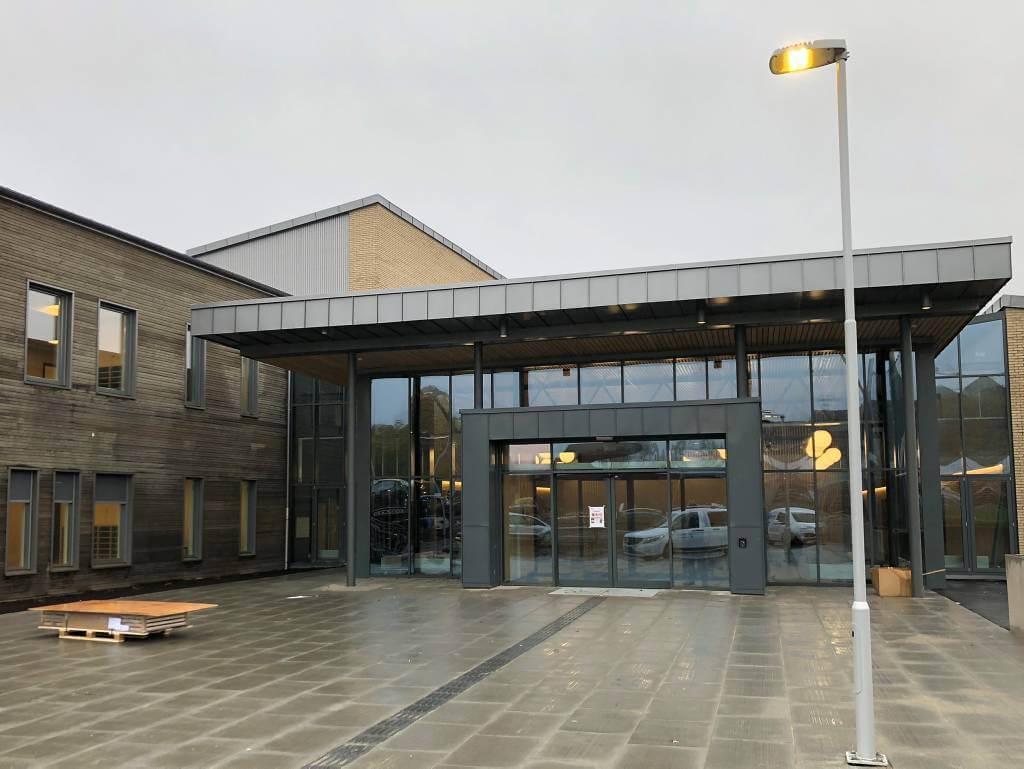 SMart skole Halden inngang